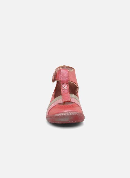 Bottines d'été Babybotte Sibel Rouge vue portées chaussures
