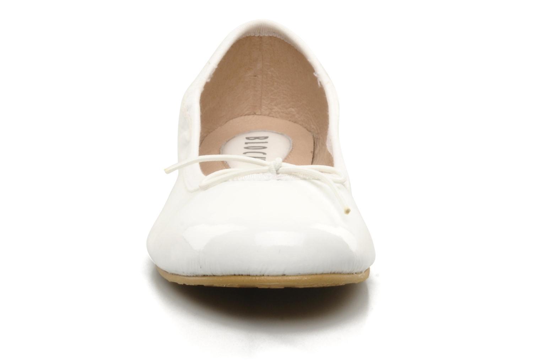 Ballerines Bloch Girls Chacha Blanc vue portées chaussures