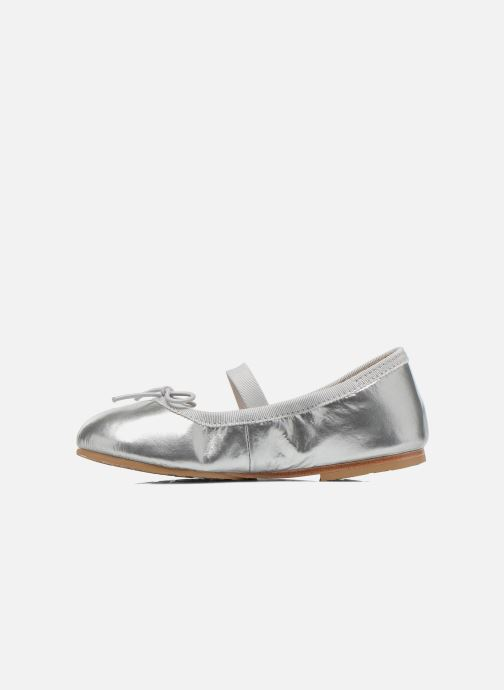 Ballet pumps Bloch Toddler Cha cha Grey front view