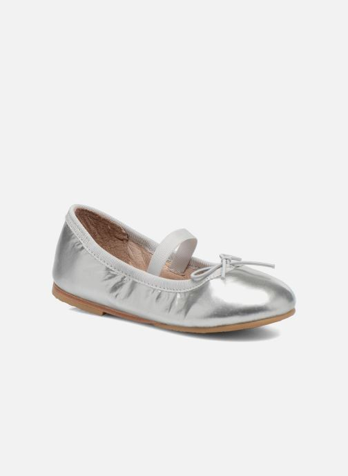Ballet pumps Bloch Toddler Cha cha Grey detailed view/ Pair view