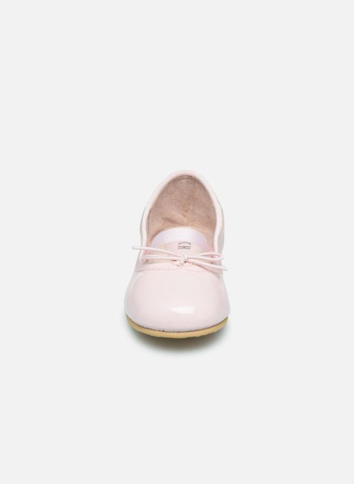 Ballerines Bloch Toddler Cha cha Rose vue portées chaussures