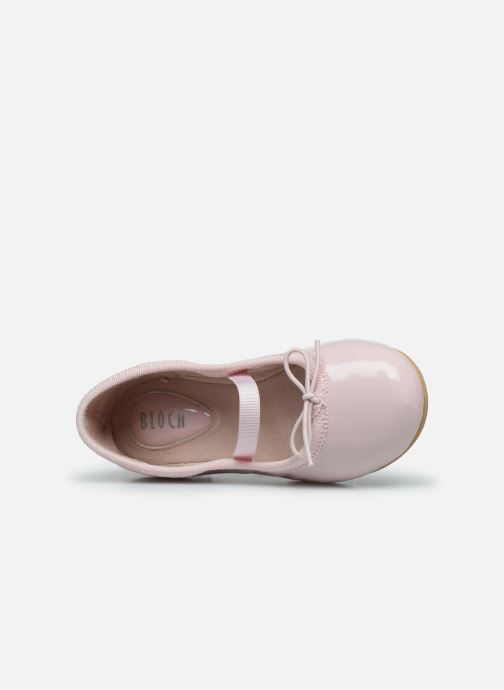 Ballet pumps Bloch Toddler Cha cha Pink view from the left