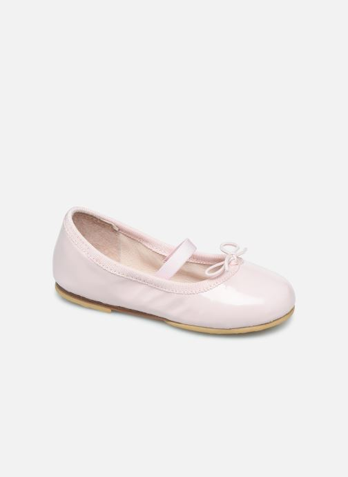 Ballerines Bloch Toddler Cha cha Rose vue détail/paire