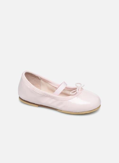 Ballet pumps Bloch Toddler Cha cha Pink detailed view/ Pair view