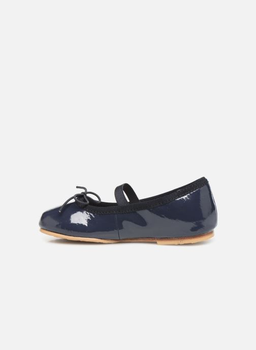 Ballet pumps Bloch Toddler Cha cha Blue front view