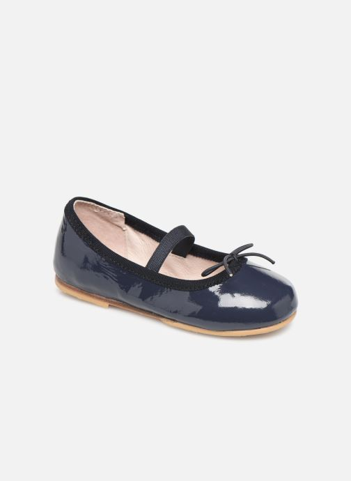 Ballet pumps Bloch Toddler Cha cha Blue detailed view/ Pair view