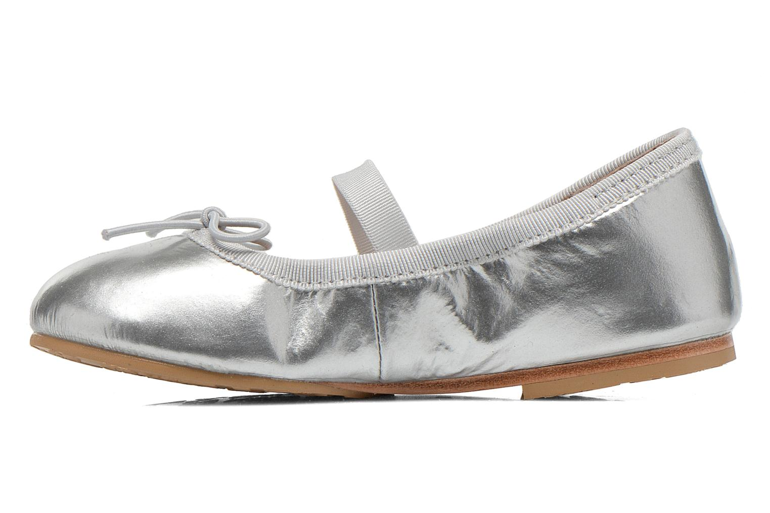 Ballerines Bloch Toddler Cha cha Gris vue face