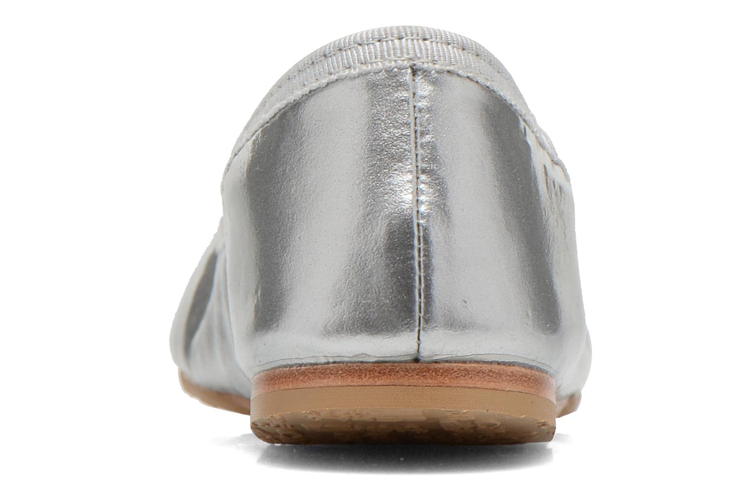 Ballerines Bloch Toddler Cha cha Gris vue droite