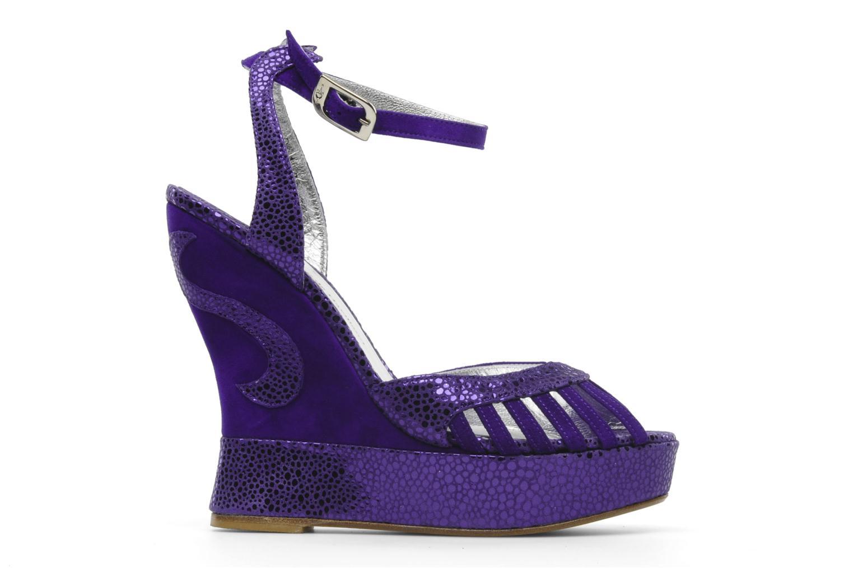 Sandales et nu-pieds Terry de Havilland Margaux Violet vue derrière