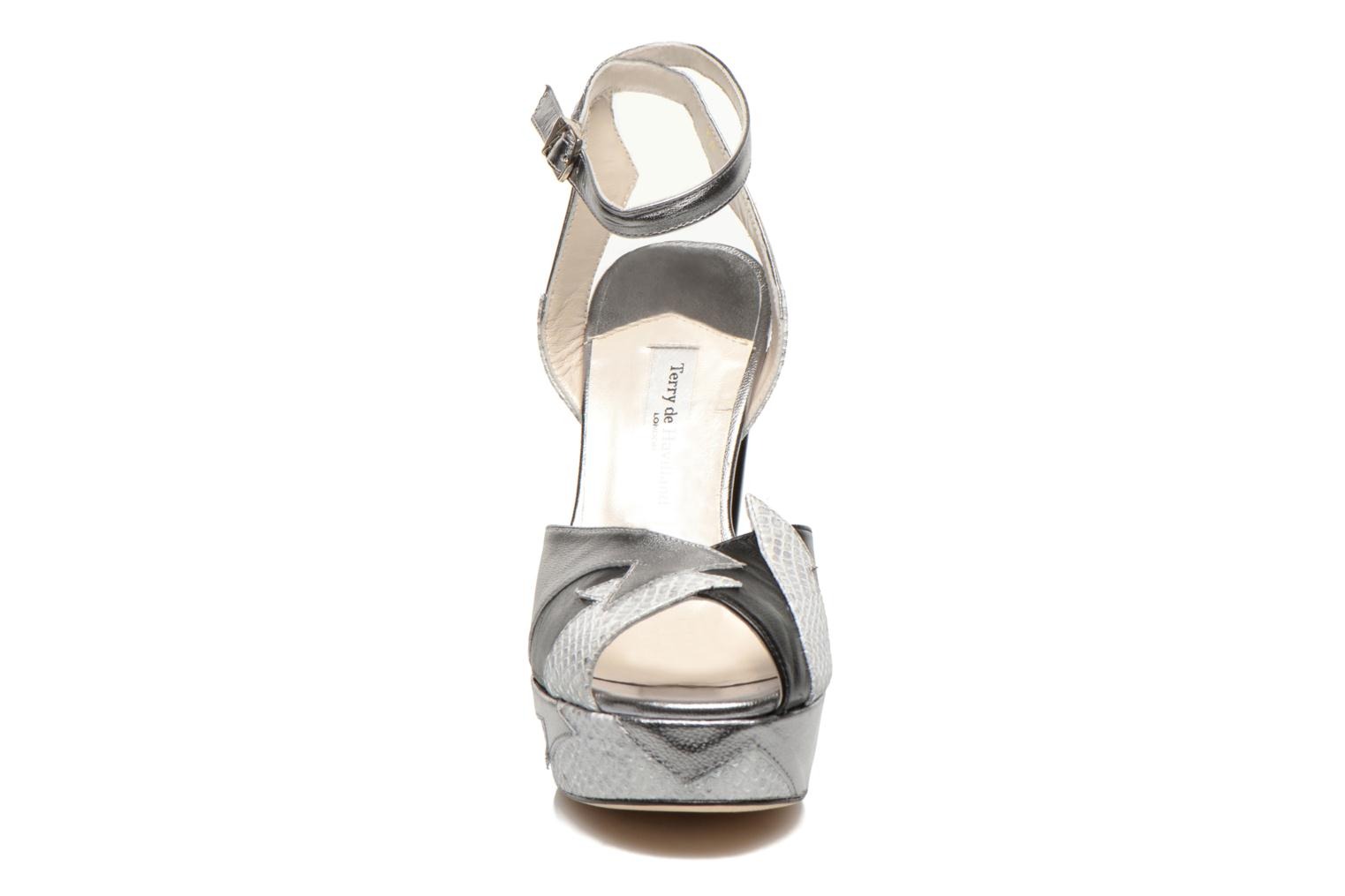 Sandals Terry de Havilland Zia Grey model view