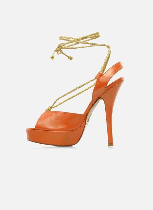 Sandales et nu-pieds Terry de Havilland Lisette Orange vue face