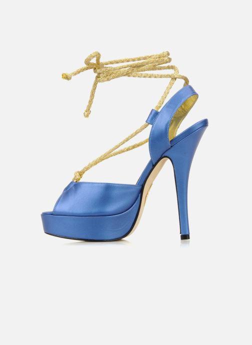 Sandales et nu-pieds Terry de Havilland Lisette Bleu vue face