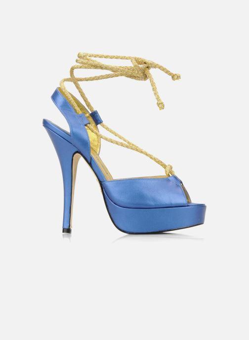 Sandales et nu-pieds Terry de Havilland Lisette Bleu vue derrière