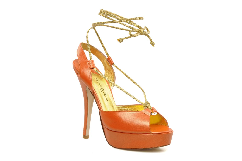 Sandals Terry de Havilland Lisette Orange detailed view/ Pair view