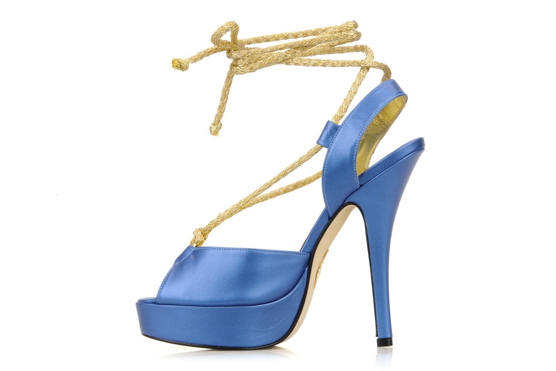 Sandalen Terry de Havilland Lisette blau ansicht von vorne