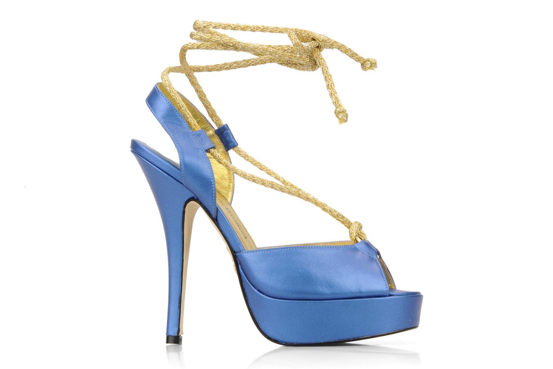 Sandalen Terry de Havilland Lisette blau ansicht von hinten