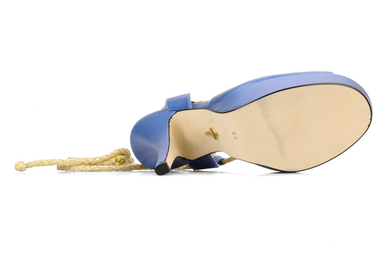 Sandalen Terry de Havilland Lisette blau ansicht von oben