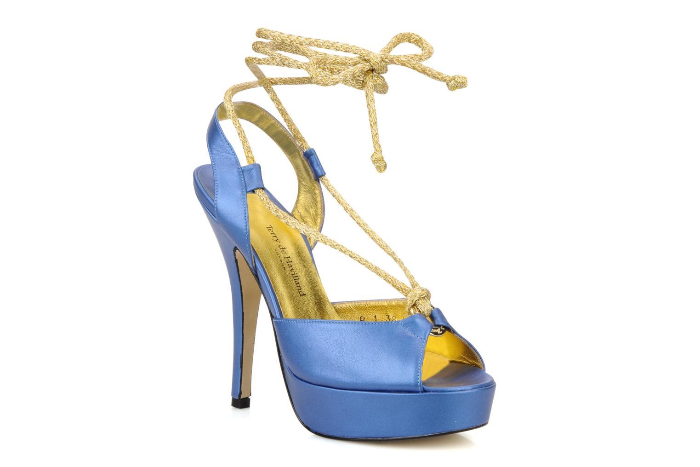 Sandalen Terry de Havilland Lisette blau detaillierte ansicht/modell