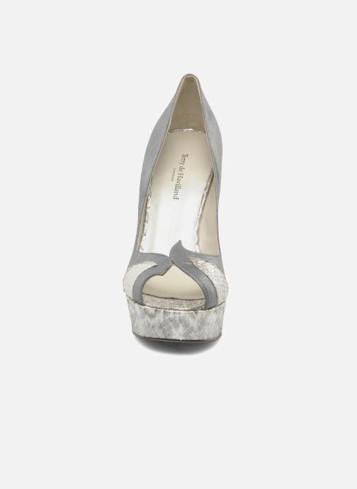 Zapatos de tacón Terry de Havilland Amber Plateado vista del modelo
