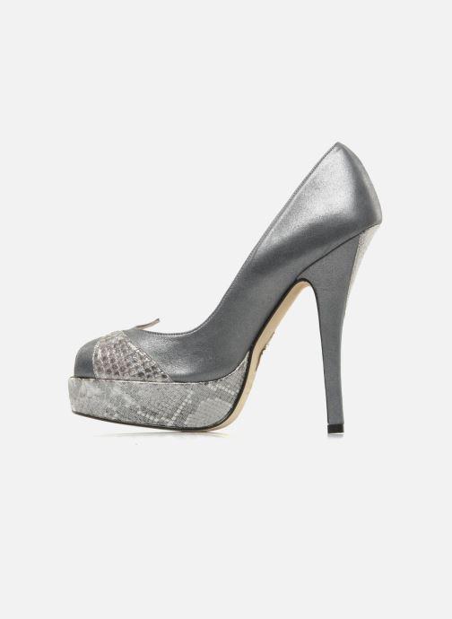 Zapatos de tacón Terry de Havilland Amber Plateado vista de frente