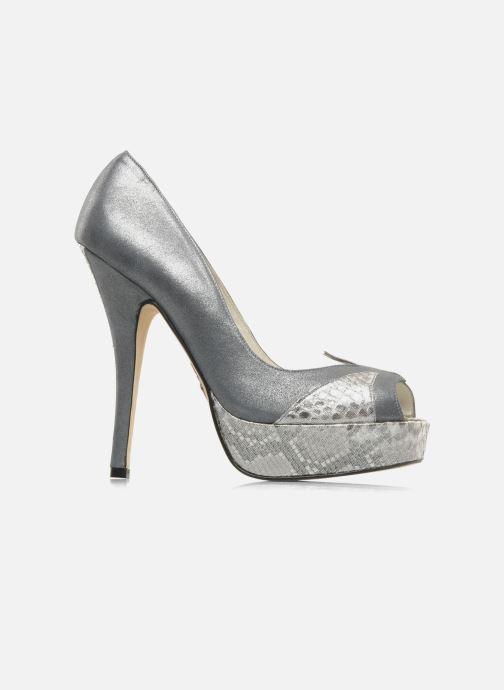 Zapatos de tacón Terry de Havilland Amber Plateado vistra trasera