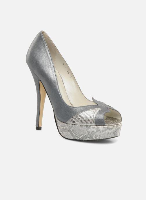 Zapatos de tacón Terry de Havilland Amber Plateado vista de detalle / par