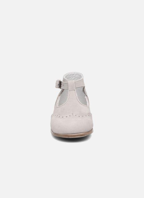 Bottines d'été Little Mary François Gris vue portées chaussures