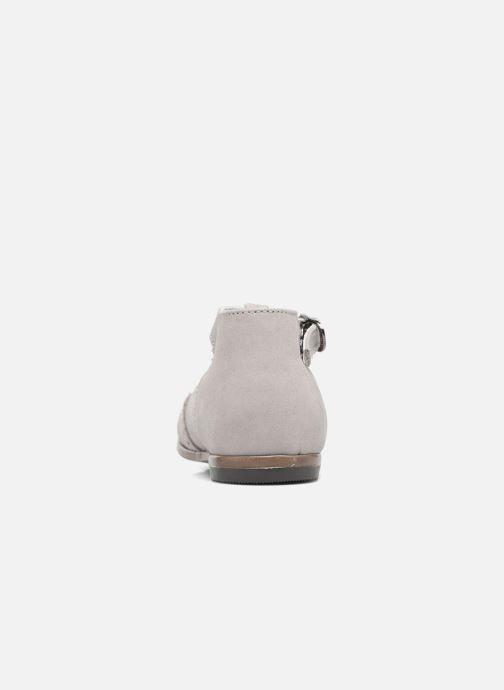 Summer boots Little Mary François Grey view from the right