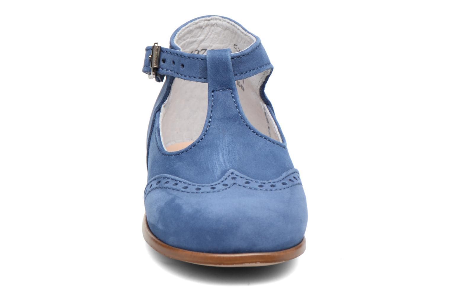 Summer boots Little Mary François Blue model view