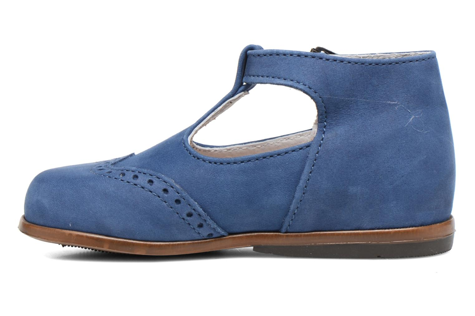Summer boots Little Mary François Blue front view