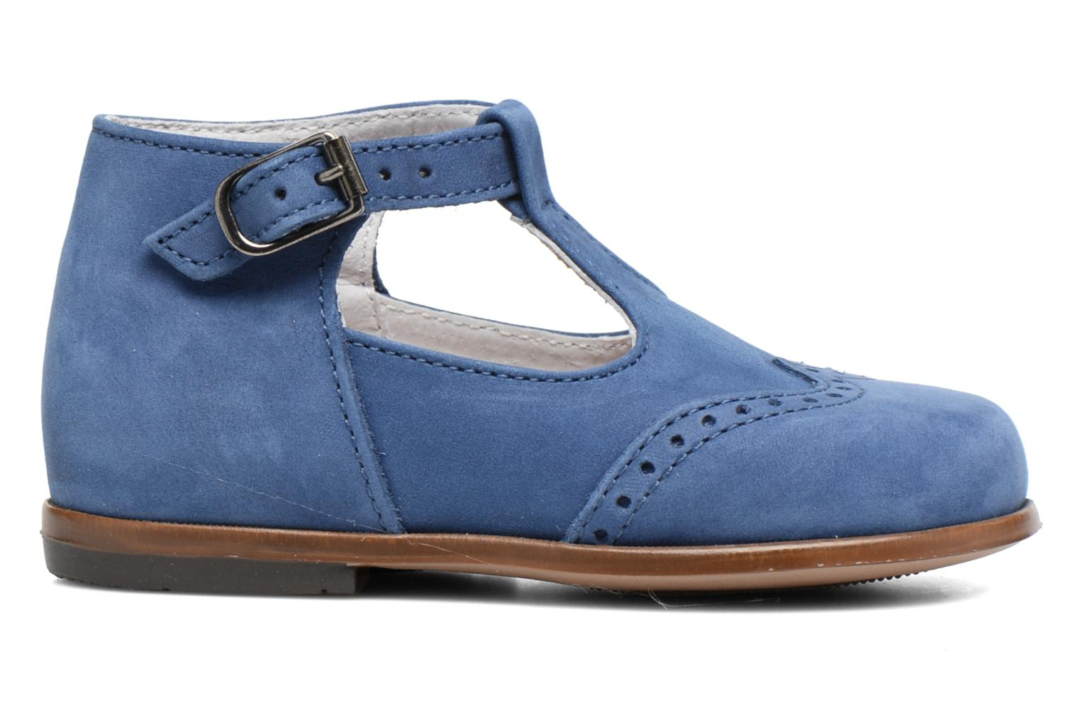 Summer boots Little Mary François Blue back view