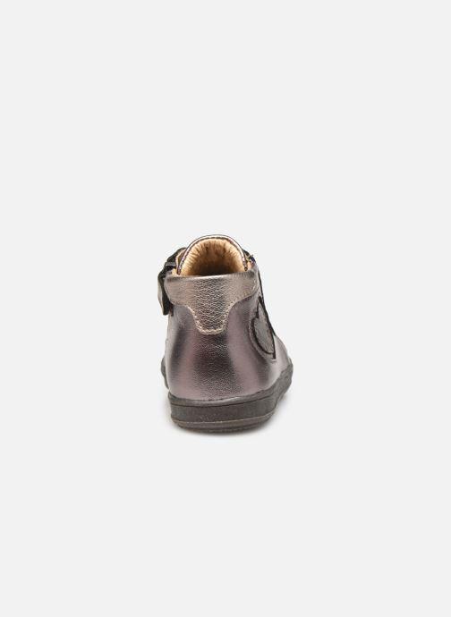 Bottines et boots Little Mary Jasmine Or et bronze vue droite