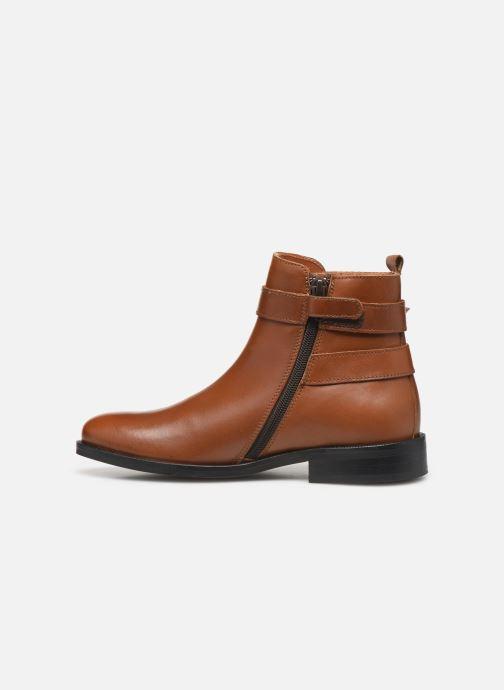 Bottines et boots Little Mary Juliette Marron vue face