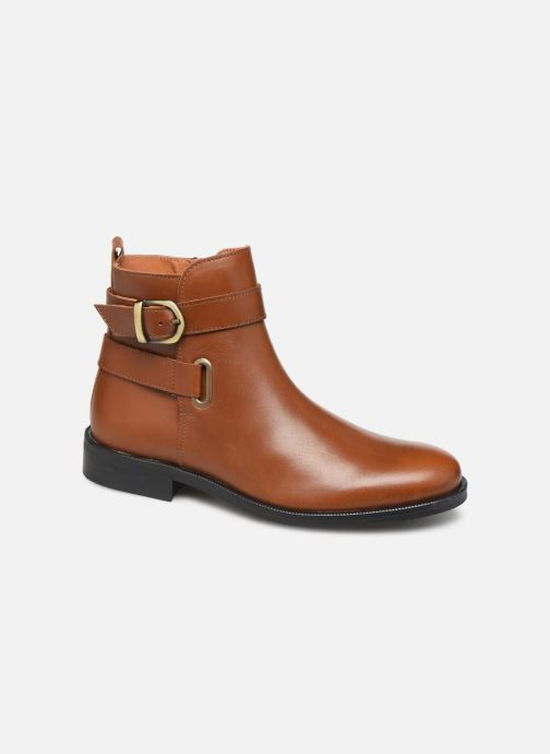Boots en enkellaarsjes Little Mary Juliette Bruin detail