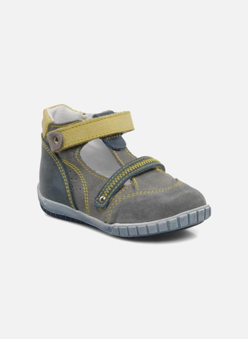 Summer boots Little Mary Jaloux Grey detailed view/ Pair view