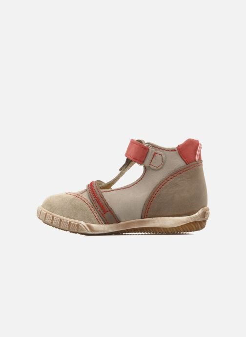 Summer boots Little Mary Jaloux Beige front view