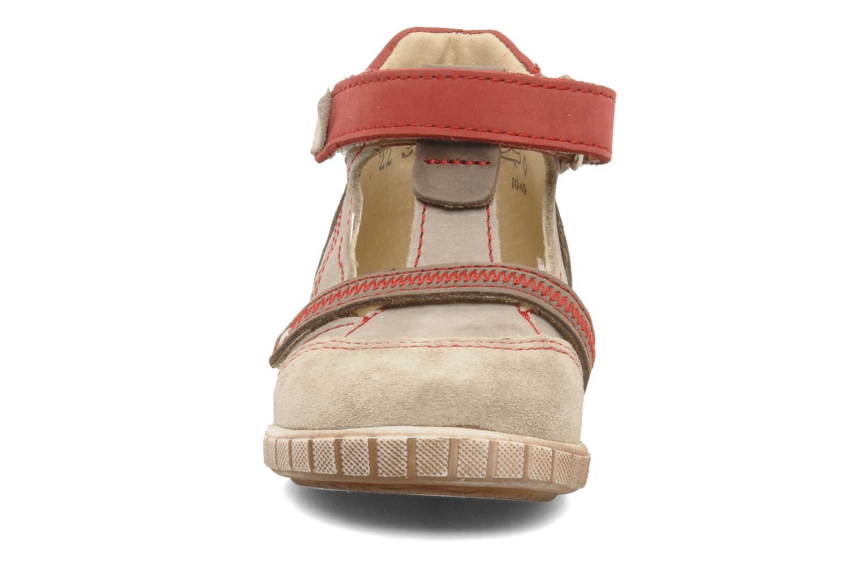Bottines d'été Little Mary Jaloux Beige vue portées chaussures