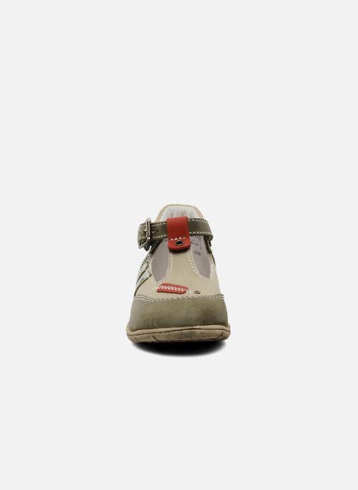 Bottines d'été Little Mary Jazz Vert vue portées chaussures