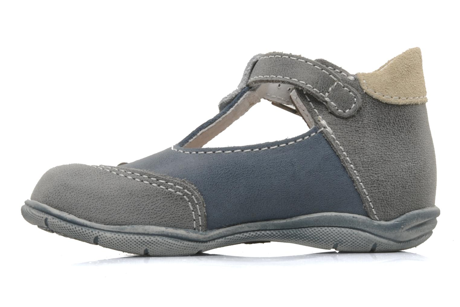 Summer boots Little Mary Jazz Grey front view