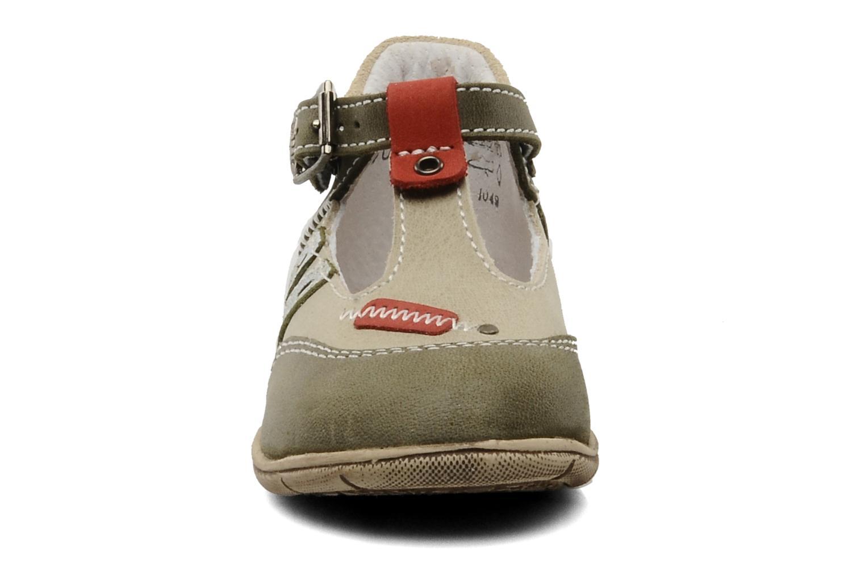 Sommarskor Little Mary Jazz Grön bild av skorna på