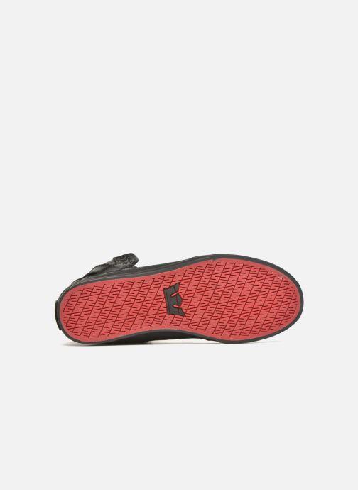 Sneakers Supra Skytop Nero immagine dall'alto