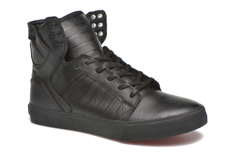 Supra Skytop (Noir) - Baskets en Más cómodo Chaussures femme pas cher homme et femme