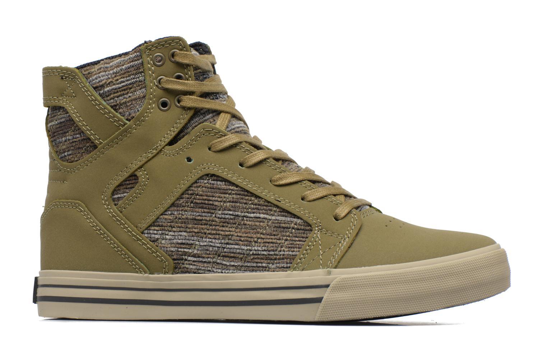 Sneakers Supra Skytop Groen achterkant