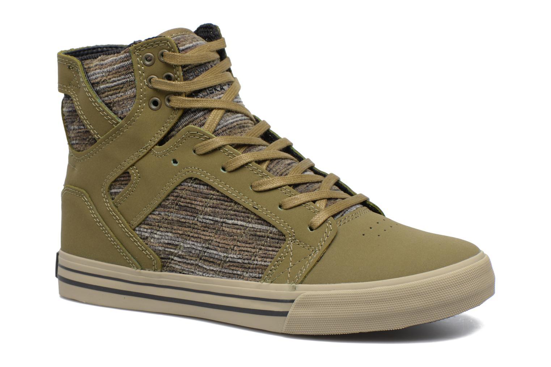 Sneakers Supra Skytop Groen detail