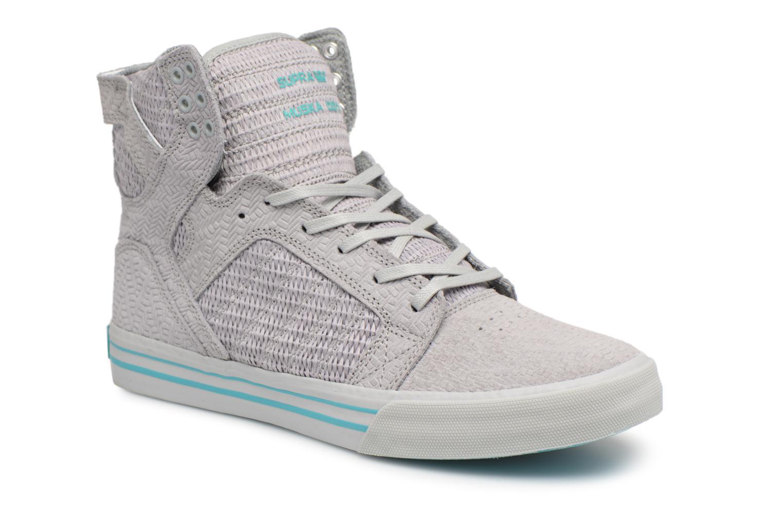 Supra Skytop (Gris) - Baskets en Más cómodo Chaussures femme pas cher homme et femme