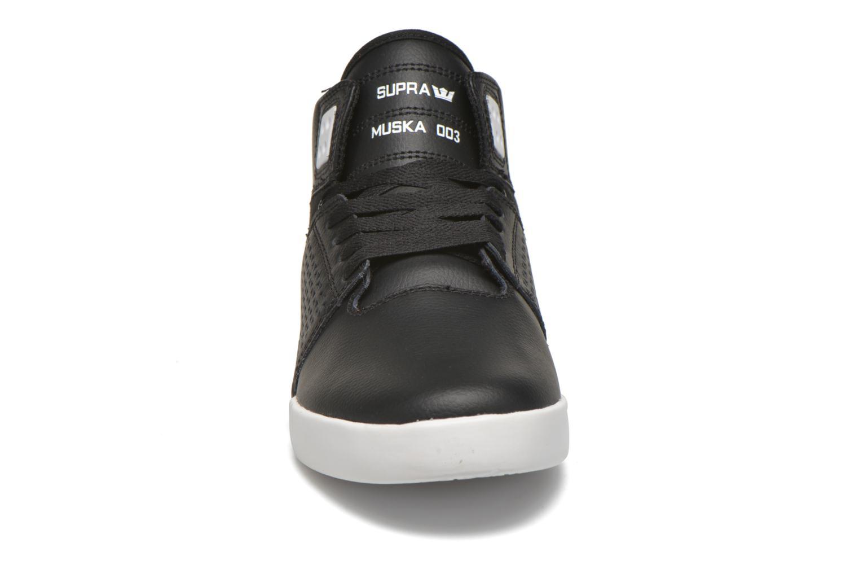 Chaussures de sport Supra Skytop III Noir vue portées chaussures