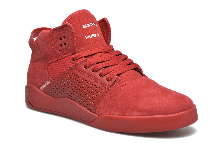 Sportschuhe Supra Skytop III rot detaillierte ansicht/modell