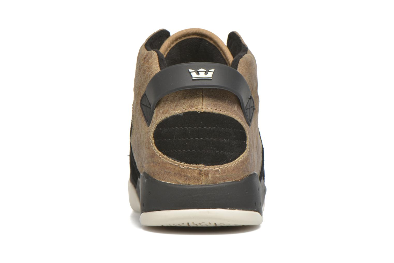 Sport shoes Supra Skytop III Brown view from the right