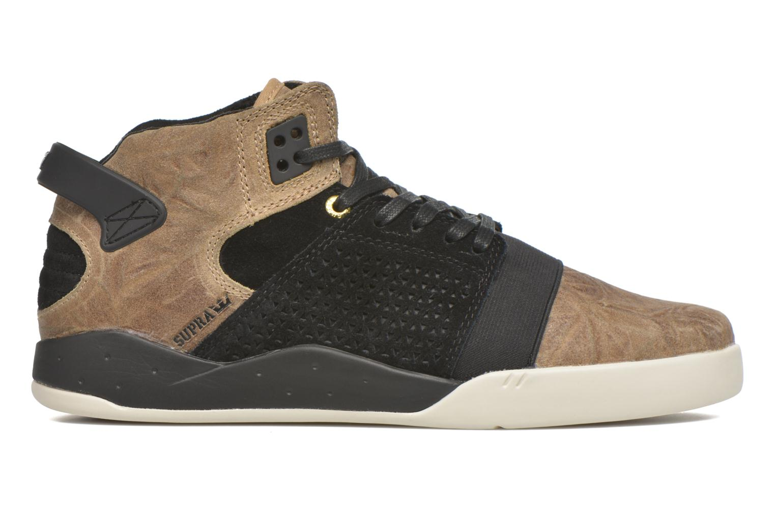 Sport shoes Supra Skytop III Brown back view
