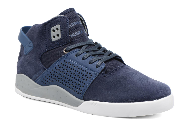 Sportssko Supra Skytop III Blå detaljeret billede af skoene